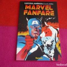 Cómics: CAPITAN AMERICA MARVEL FANFARE ( FRANK MILLER ROGER STERN ) ¡MUY BUEN ESTADO! FORUM . Lote 130908164