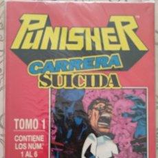 Cómics: PUNISHER: CARRERA SUCIDA OBRA COMPLETA - RETAPADO - Nº 1 AL 6 (COLECICÓN COMPLETA) - FORUM. Lote 130921420