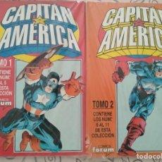 Cómics: CAPITÁN AMÉRICA VOL. 3 - 1 AL 11 (COLECCIÓN COMPLETA) - 2 RETAPADOS - FORUM. Lote 130926168