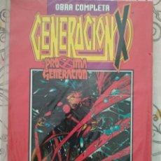 Cómics: GENERACIÓN-X: PRÓXIMA GENERACIÓN - OBRA COMPLETA - RETAPADO - FORUM. Lote 130927428