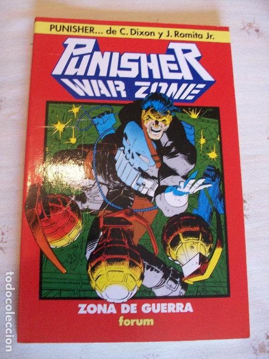 Tomo one shot punisher castigador war zone  joh - Sold