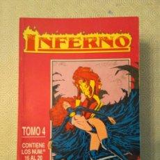 Cómics: INFERNO - TOMO 4 (#16-20). Lote 130986108