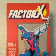 Cómics: FACTOR X - TOMO 9 (#41-45). Lote 130986547