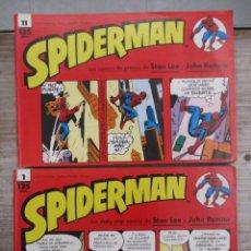 Cómics: SPIDERMAN - DAILY-STRIP - TIRAS DE PRENSA - DEL 1 AL 11 AUTORES STAN LEE Y JOHN ROMITA FORUM . . Lote 130992412