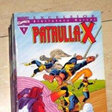 Cómics: BIBLIOTECA MARVEL PATRULLA X COMPLETA 12 NUMEROS FORUM PATRULLA-X OFERTA. Lote 131027884