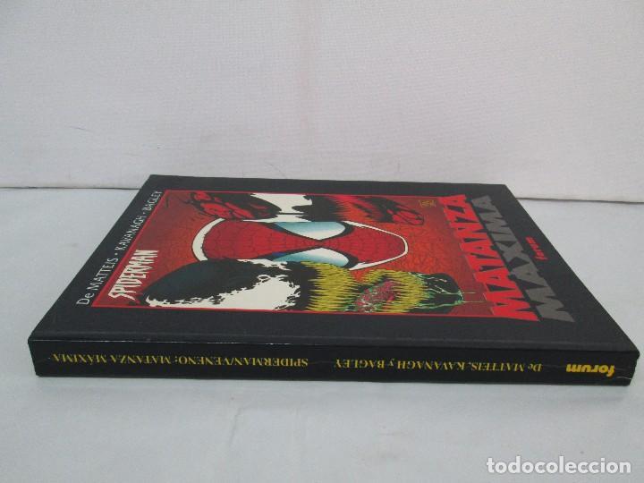 Cómics: SPIDERMAN. MATANZA MAXIMA. DE MATTEIS. KAVANAGH. BAGLEY. EDITORIAL FORUM PLANETA AGOSTINI. 1996 - Foto 3 - 131093284