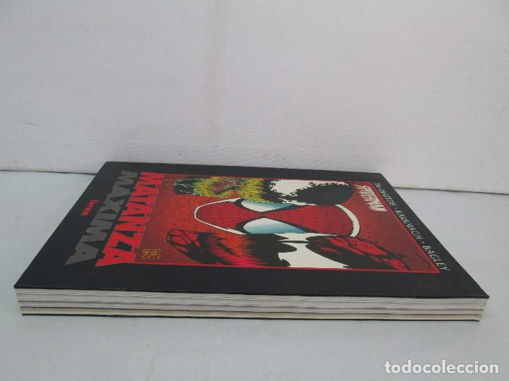 Cómics: SPIDERMAN. MATANZA MAXIMA. DE MATTEIS. KAVANAGH. BAGLEY. EDITORIAL FORUM PLANETA AGOSTINI. 1996 - Foto 5 - 131093284