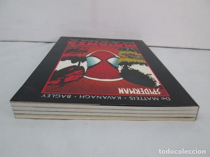 Cómics: SPIDERMAN. MATANZA MAXIMA. DE MATTEIS. KAVANAGH. BAGLEY. EDITORIAL FORUM PLANETA AGOSTINI. 1996 - Foto 6 - 131093284