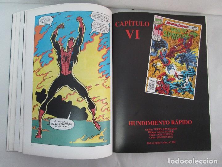 Cómics: SPIDERMAN. MATANZA MAXIMA. DE MATTEIS. KAVANAGH. BAGLEY. EDITORIAL FORUM PLANETA AGOSTINI. 1996 - Foto 14 - 131093284
