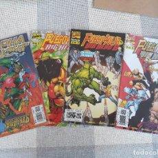 Comics : FUEGO SOLAR BIG HERO 6 SERIE COMPLETA + ALPHA FLIGHT 17 1ª APARICIÓN BIG HERO 6. Lote 131125624