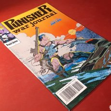 Cómics: THE PUNISHER 4 EXCELENTE ESTADO WAR JOURNAL FORUM. Lote 131144213