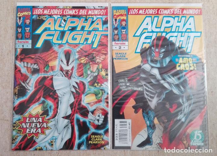 ALPHA FLIGHT VOL. 2 COMPLETA (Tebeos y Comics - Forum - Alpha Flight)
