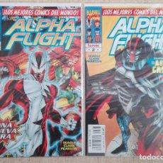 Cómics: ALPHA FLIGHT VOL. 2 COMPLETA. Lote 131161400