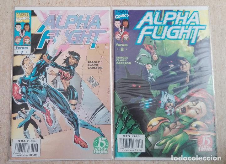 Cómics: ALPHA FLIGHT VOL. 2 COMPLETA - Foto 4 - 131161400