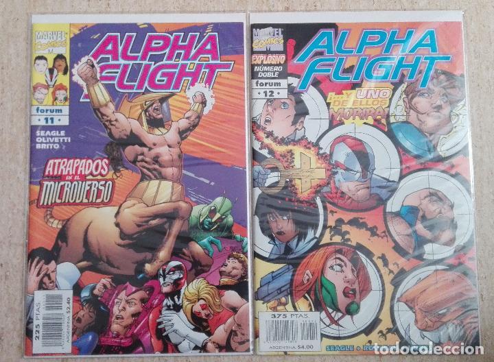 Cómics: ALPHA FLIGHT VOL. 2 COMPLETA - Foto 6 - 131161400