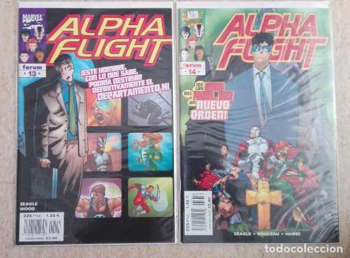 Cómics: ALPHA FLIGHT VOL. 2 COMPLETA - Foto 7 - 131161400