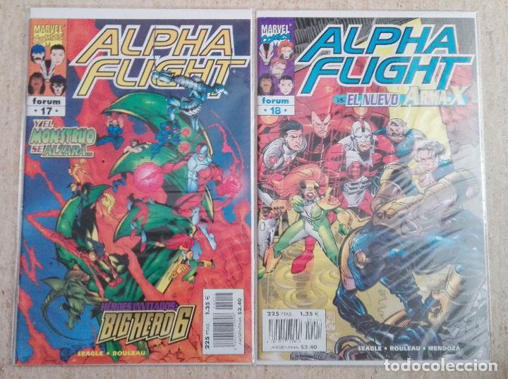 Cómics: ALPHA FLIGHT VOL. 2 COMPLETA - Foto 9 - 131161400