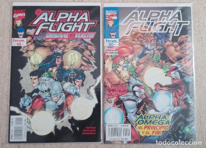 Cómics: ALPHA FLIGHT VOL. 2 COMPLETA - Foto 10 - 131161400