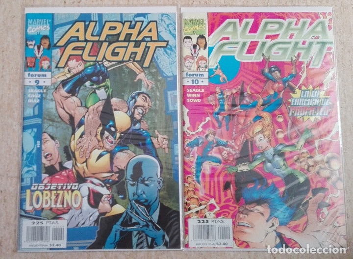 Cómics: ALPHA FLIGHT VOL. 2 COMPLETA - Foto 5 - 131161400