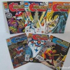 Cómics: LOS CABALLEROS DE PENDRAGON. Nº 1,2,3,4,5,6. MARVEL COMICS. FORUM. 1991. VER FOTOGRAFIAS. Lote 131165092