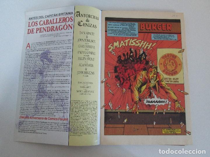 Cómics: LOS CABALLEROS DE PENDRAGON. Nº 1,2,3,4,5,6. MARVEL COMICS. FORUM. 1991. VER FOTOGRAFIAS - Foto 9 - 131165092