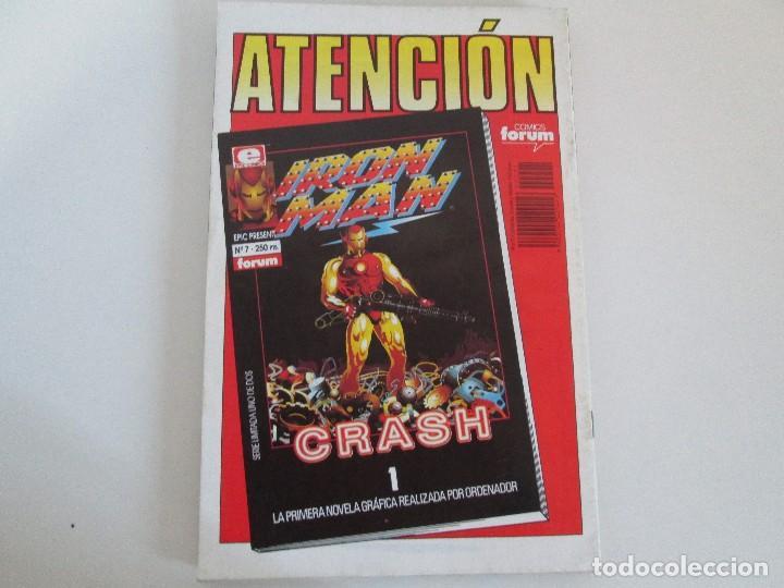 Cómics: LOS CABALLEROS DE PENDRAGON. Nº 1,2,3,4,5,6. MARVEL COMICS. FORUM. 1991. VER FOTOGRAFIAS - Foto 11 - 131165092