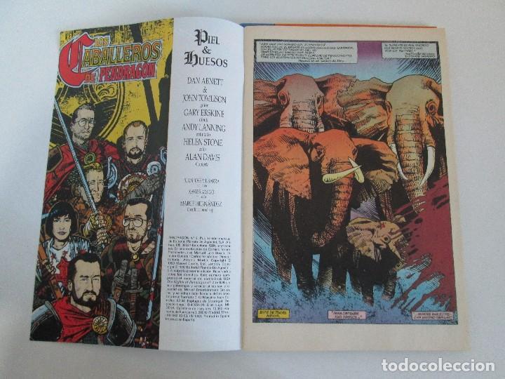 Cómics: LOS CABALLEROS DE PENDRAGON. Nº 1,2,3,4,5,6. MARVEL COMICS. FORUM. 1991. VER FOTOGRAFIAS - Foto 14 - 131165092