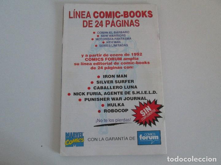 Cómics: LOS CABALLEROS DE PENDRAGON. Nº 1,2,3,4,5,6. MARVEL COMICS. FORUM. 1991. VER FOTOGRAFIAS - Foto 21 - 131165092