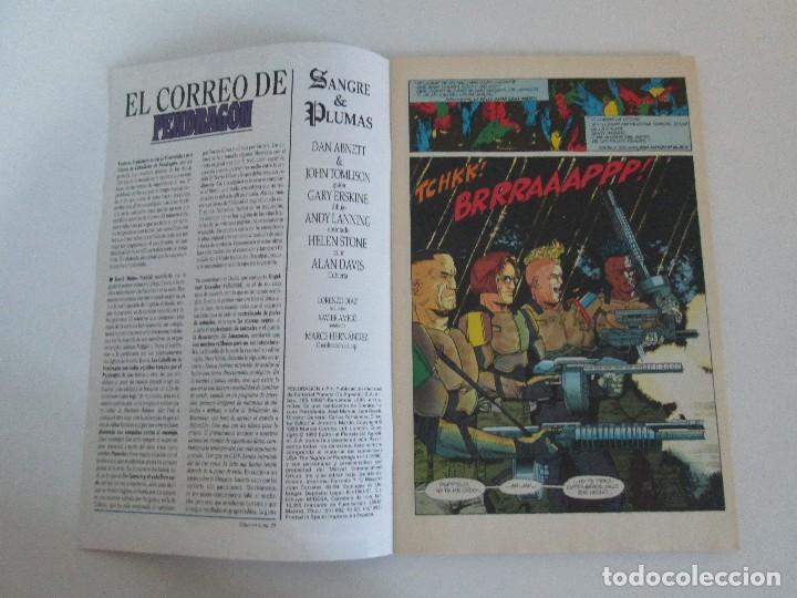 Cómics: LOS CABALLEROS DE PENDRAGON. Nº 1,2,3,4,5,6. MARVEL COMICS. FORUM. 1991. VER FOTOGRAFIAS - Foto 24 - 131165092