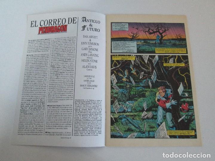 Cómics: LOS CABALLEROS DE PENDRAGON. Nº 1,2,3,4,5,6. MARVEL COMICS. FORUM. 1991. VER FOTOGRAFIAS - Foto 34 - 131165092