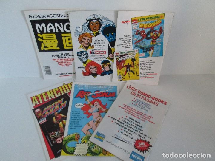 Cómics: LOS CABALLEROS DE PENDRAGON. Nº 1,2,3,4,5,6. MARVEL COMICS. FORUM. 1991. VER FOTOGRAFIAS - Foto 38 - 131165092