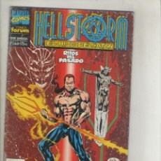 Cómics: HELLSTORM-EL HIJO DE SATAN-SERIE DE 6Nº-AÑO 1993-FORUM-COLOR-Nº 3-PARAISO PERDIDO-RITOS DEL PASADO. Lote 131236915