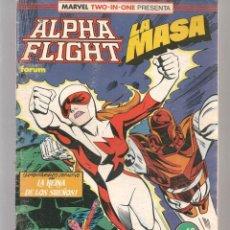 Cómics: ALPHA FLIGHT. Nº 60. FORUM (Z/C4). Lote 131237287