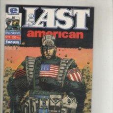 Cómics: EPIC PRESENTS/THE LAST AMERICAN-SERIE 1 DE 4-AÑO 1992-COLOR-FORMATO GRAPA-Nº 9-EL ULTIMO AMERICANO. Lote 131239739