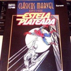 Cómics: ESTELA PLATEADA -SILVER SURFER -CLÁSICOS MARVEL B Y N. Lote 131240527