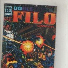 Cómics: MARVEL DOBLE FILO-OMEGA-FORUM-AÑO 1996-VOL.1-COLOR-FORMATO GRAPA-Nº 1-DIAS DE GLORIA. Lote 131240743