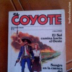 Cómics: NOVELA EL COYOTE N,41 DE FORUM. Lote 131349442