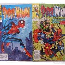 Cómics: COMICS SPIDER WOMAN,NUMEROS 1 Y 2,MARVEL COMICS,AÑO 2000,PLANETA. Lote 131424102