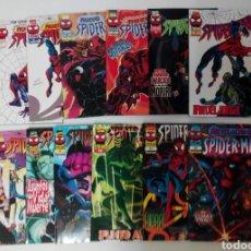 Cómics: NUEVO SPIDERMAN MARVEL, COLECCIÓN COMPLETA 12 TOMOS, FORUM EX. Lote 131591278