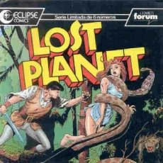 Comics : LOST PLANET Nº 3 - FORUM. Lote 131663326