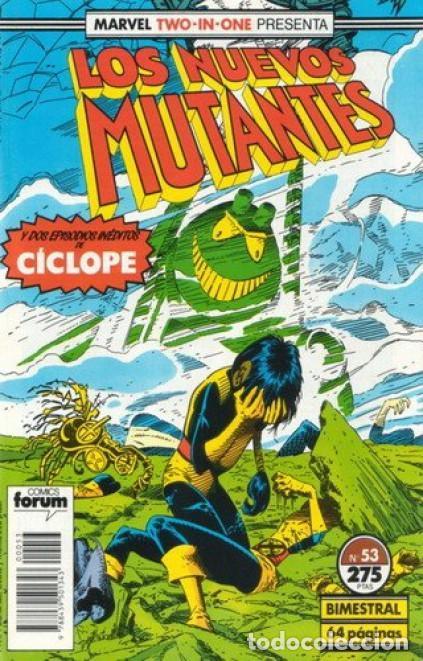 NUEVOS MUTANTES Nº 53 - FORUM (Tebeos y Comics - Forum - Nuevos Mutantes)