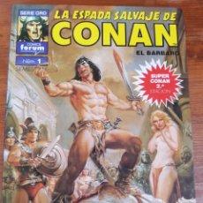 Cómics: SUPER CONAN LA ESPADA SALVAJE DE CONAN NÚMERO 1. Lote 131705887