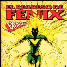 Cómics: EL REGRESO FENIX EXCALIBUR Nº61 AL67 RECOPILATORIO ALAN DAVIS 160 PAGS.. Lote 131721934