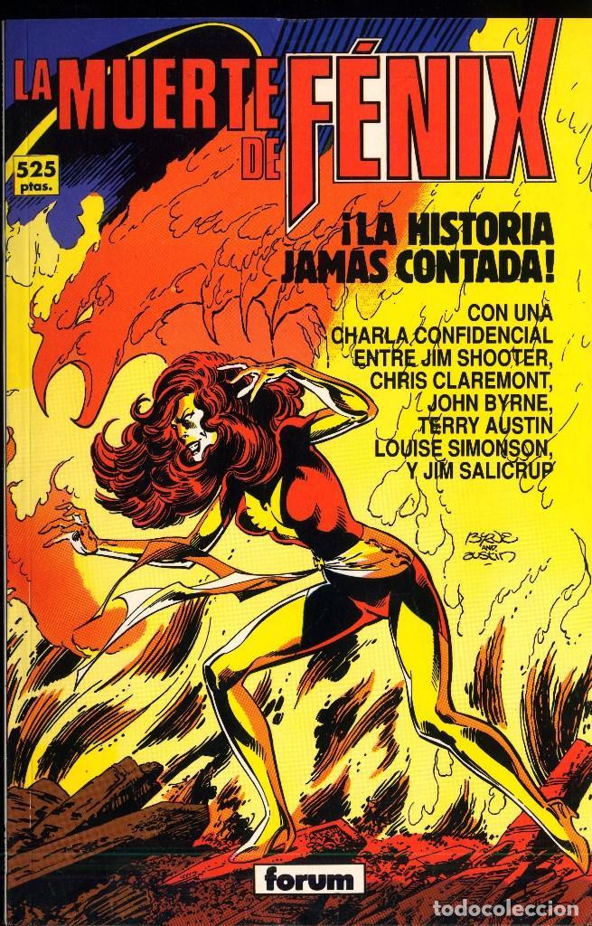 LA MUERTE DE FENIX JOHN BYRNE Y CLAREMONT AMBOS PREMIO HAXTUR AÑO 1992 (Tebeos y Comics - Forum - Prestiges y Tomos)