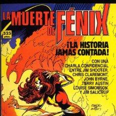 Cómics: LA MUERTE DE FENIX JOHN BYRNE Y CLAREMONT AMBOS PREMIO HAXTUR AÑO 1992. Lote 131722642