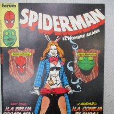 Cómics: SPIDERMAN RETAPADO CON LOS NUMEROS 86 A 90 VOLUMEN 1 FORUM. . Lote 131726518