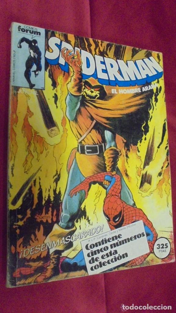 SPIDERMAN RETAPADO CON LOS NUMEROS 71 A 75 VOLUMEN 1 FORUM. (Tebeos y Comics - Forum - Spiderman)