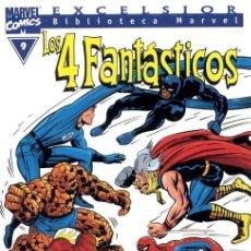 Fumetti: BIBLIOTECA MARVEL: LOS 4 FANTÁSTICOS VOL.1 Nº 9 - FORUM. Lote 131842454