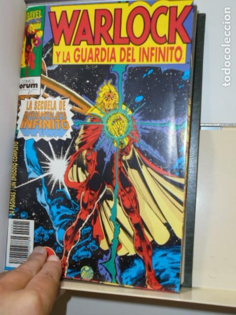 WARLOCK Y LA GUARDIA DEL INFINITO COMPLETA 17 NUMEROS ENCUADERNADOS EN UN TOMO - FORUM - (Tebeos y Comics - Forum - Otros Forum)