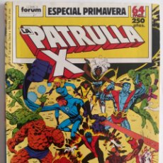 Cómics: LA PATRULLA X ESPECIAL PRIMAVERA 1989. FORUM. Lote 131871351